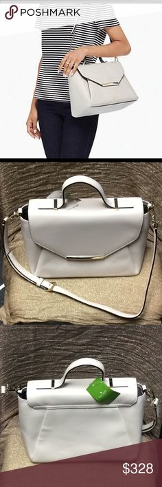 Kate Spade Palermo Camden Way Pebble Crossbody Beautiful pebble color Palermo Kate Spade crossbody bag. Great for everyday. Perfect gift. Ready for holiday. Make an offer! Make it yours! No flaws. Great condition. Never worn , NEW NWT magnetic closure. Adjustable strap. Leather kate spade Bags Crossbody Bags