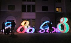 Glowing 'Fish Bellies' LED Sculpture Reflects Local Ecology at Texas State…