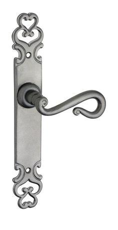 Metallic Iron Strasbourg Door Handle Range - Restoration Online