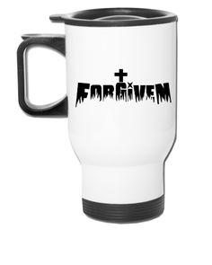 Forgiven by Jesus - Travel Mug
