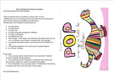 Sac à album Pop et Le loup qui voulait changer de couleur chez Christine et Cath Cathie Pop, Books, Images, Livros, Popular, Libros, Pop Music, Book, Book Illustrations