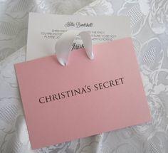 Bridal Shower Invitation Lingerie Invitation Victorias Secret Invitation
