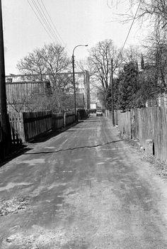 Ulica Wróbla 1983 r. fot. Wojciech Przeklasa