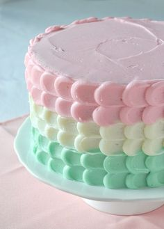 pastel cake. omg.