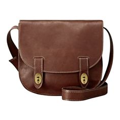 Fossil Austin Large Flap ($210) ❤ liked on Polyvore featuring bags, handbags, shoulder bags, purses, accessories, bolsas, espresso, leather bags, shoulder handbags and brown leather handbags