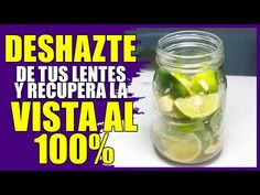 Mezcla esto una sola vez y despídete de visión borrosa, recupera la visión de tus ojos al 100% - YouTube Natural Health Tips, Osho, Natural Home Remedies, Health Remedies, Medicine, Cooking, Nature, Food, Kids