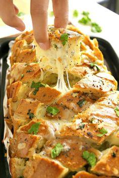 Stuffed Cheesy Bread on Crack