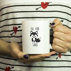 Oh For Fox Sake Coffee Mug Funny Fox Gift For Him or Her ... https://www.amazon.com/dp/B072LS4W1M/ref=cm_sw_r_pi_awdb_x_GDxizbPZ5ZBWM