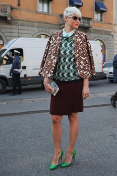 Streetstyle: Milan fashion week, elle.cz