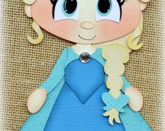 Disney Princess Merida Brave Premade Scrapbooking