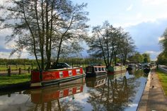 3 months. Sehmers and a boat.   Canal Boats near Fradley Junction