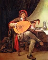 Self-portrait with a lute by Jan Steen. self-portrait Leiden, Vermeer Paintings, Johannes Vermeer, Dutch Golden Age, Painting Studio, Dutch Painters, Art Database, Rembrandt, Middle Ages