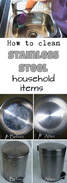 How to clean stainless steel household items | Cleaning DIY