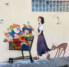 by Ernest Zacharevic in Los Angeles, 3/15 (LP)
