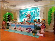 Moana Birthday Party Ideas | Photo 1 of 27