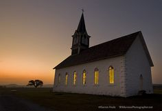 Rock Church at twilight by Wilderness Photographer, via Flickr