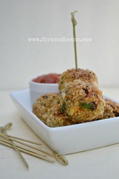Italian Quinoa Bites