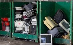 INFOGRAPHIC: What Happens to Electronic Waste? #green #eco
