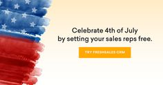 Freshsales CRM Team Wishes you and your family a happy of July! Happy 4 Of July, 4th Of July, Sales Crm, Fireworks, Independence Day, July 4th