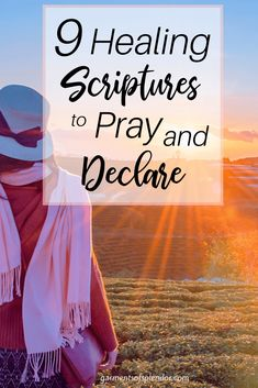 Looking for ways to pray and declare healing over your life? Check out nine Scriptures on healing that you can pray and declare over your situation! Healing Scriptures Bible, Healing Verses, Powerful Scriptures, Prayers For Healing, Prayer Scriptures, Bible Prayers, Scripture Verses, Praying For Healing Quotes, Bible Quotes