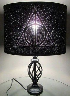 deathly hallows lamp shade -- EPIC.
