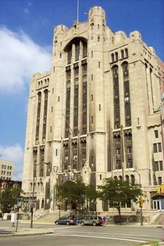 There are some twelve million cubic feet of space, making it the largest and most complex building of its kind in the world - Detroit Masonic Temple