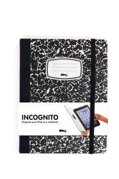 Bolsas e Pastas p/ Portáteis e Tablets : Incognito - Capa IPad
