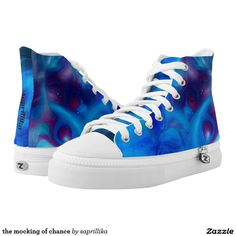 the mocking of chance printed shoes