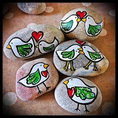 cute -  Painted Rocks
