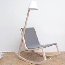 Murakumi Lamp Rocking Chair