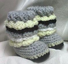 Crochet Ruffle Uggs  Ugg Boots w/ Ruffles  by MamaTCrafts on Etsy, $20.00