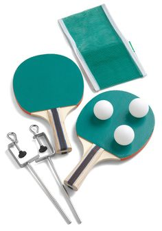 Ace of Baseline Table Tennis Set, #ModCloth