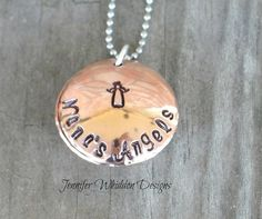 Hand Stamped Grandmother's Necklace    Personalized by Jlwhiddon, $34.00...my necklace that my friend Jennifer Whiddon of Jennifer Whiddon Designs made just for ME <3