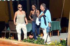 Emilio #Fede in dolce compagnia a #portofino #celebrities #shopping #fashion #holiday