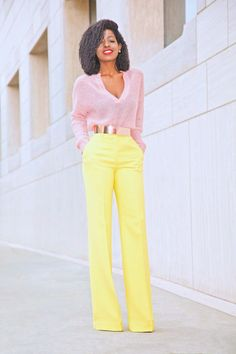 Cozy Knit + High Waist Wide Leg Pants