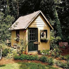 English Cottage Garden Shed
