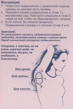 Подмышечник / История моды /