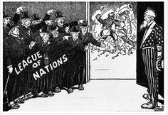 The League of Nation's task was simple, to ensure that war never broke out again. After the turmoil caused by the Versailles Treaty, many looked to the League to bring stability to the world.
