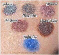 Kiss My Sass Eyeshadow Swatches by www.personellietea.wordpress.com
