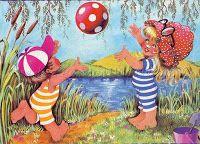 Füzesi Zsuzsa képeslapok - Lorenin's Collection Cool Kids, Kids Fun, Monet, Tigger, Disney Characters, Fictional Characters, Seasons, Drawings, Artist