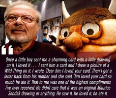 Maurice Sendak recieves the highest of compliments
