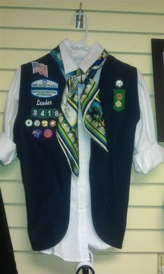 Girl Scout Leader Vest - Wish my council offered this!