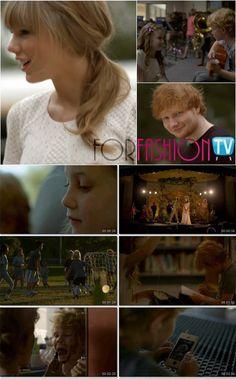 Taylor Swift & Ed Sheeran Cute Music Video – Watch the cutest music video