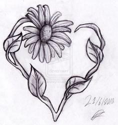 Daisy Heart by supersmeg123.deviantart.com on @deviantART