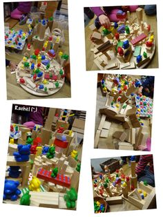 "Block center: Bears and bricks from Rachel ("",)"