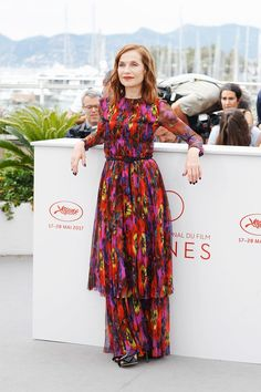 Cannes Film Festival 2017 | Isabelle Huppert at the photocall for her film Happy End - Day 10. | Vanity Fair.