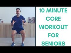 good core exercises 10 Minute Core Strengthening Workout For Seniors Best Core Workouts, Gym Workouts, Core Exercises, Belly Exercises, Workout Exercises, Fat Workout, Senior Fitness, Senior Workout, Health Programs