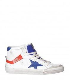Sneakers 2.12 Blanc/Bleu Rouge