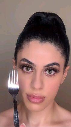 Nose Makeup, Face Makeup Tips, Makeup Face Charts, Makeup Eye Looks, Contour Makeup, Eyebrow Makeup, Skin Makeup, Makeup Ideas, Creative Makeup