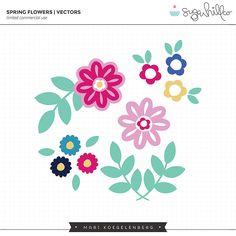 Spring Flowers | Vectors